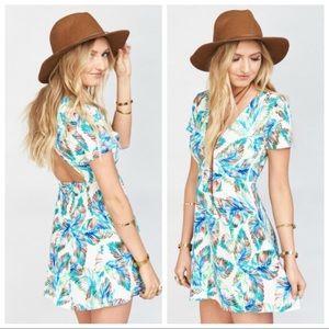 Show Me Your Mumu Ibiza Mini Dress Lava Beach Club